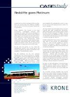 Tài liệu Case Study - Redcliff goes Platinum doc