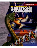 The complete book of questions and answers
