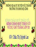 Bài soạn HINH HOP CHU NHAT HINH LAP PHUONG