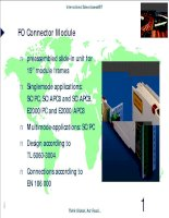 Tài liệu Datasheet - FO - Connector Module doc