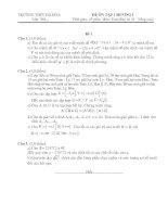 ĐỀ ÔN TẬP CHƯƠNG I- THPT-lớp 10