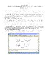Tài liệu Phương pháp vẽ hình chiếu vuông góc ppt