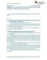 Luan van chuyen de BH xe cơ giới và trục lợi BH xe cơ giới