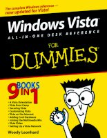 Tài liệu Windows Vista AIO Desk Reference For Dummies P1 ppt