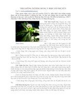 Tài liệu TRỊ LOÃNG XƯƠNG BẰNG Y HỌC CỔ TRUYỀN pdf