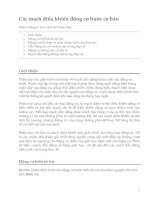 Tài liệu Điều khiển động cơ bước (Phần 3) pptx