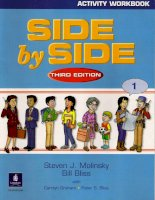 Side By Side Activitiy Workbook 1 - third edition