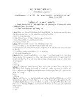 Tài liệu ôn thi vào Agribank - Môn Nghiệp vụ Tín dụng ngân hàng