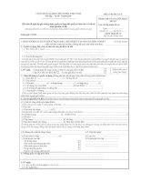 Tài liệu Mẫu đơn đề nghị cấp giấy chứng nhận, quyền sử dụng đất, quyền sở hữu nhà ở và tài sản khác gắn liền với đất ppt