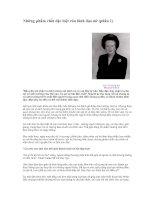 Tài liệu Những phẩm chất đặc biệt của lãnh đạo nữ docx