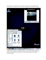Tài liệu Giới thiệu về Mandriva One 2010.1 Spring với GNOME-Tập 1 pdf