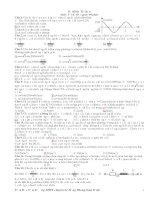 Tài liệu Đề thi thử đại học môn Lý (Có đáp án) ppt