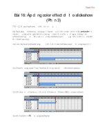 Tài liệu Học Adobe Flash CS4 cơ bản Flash CS4 - bài 16 pdf