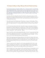 Tài liệu Câu chuyện về những con rồng có liên quan đến một kế họach marketing… docx