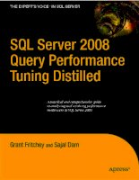 Tài liệu Apress - SQL Server 2008 Query Performance Tuning Distilled (2009)01 pptx