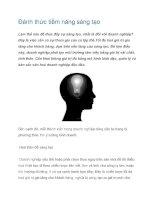Tài liệu Đánh thức tiềm năng sáng tạo pdf