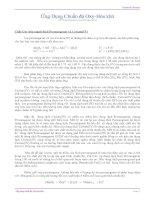 Tài liệu Ứng dụng chuẩn độ oxy-hóa khử ppt