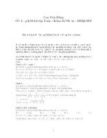 Tài liệu Phương pháp chứng minh Bất đẳng thức Schur docx