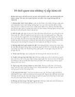 Tài liệu 10 thói quen của những vị sếp kém cỏi docx