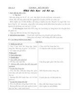 Tài liệu Tập đọc - Kể chuyện: Nhà bác học và bà cụ