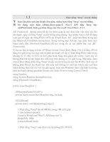 Tài liệu Đồ hoạ, đa phương tiện ( Mutilmedia) và In ấn Đồ họa phần 4 doc