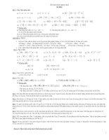 Bài giảng de cuong ki 1