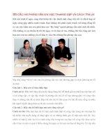 35 câu hỏi phỏng vấn xin việc thường gặp và cách trả lờ