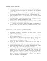 Tài liệu Developing writting skills 2 part 3 pdf