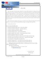 Tài liệu Bồi dưỡng kiến thức cơ học docx