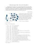 Tài liệu Kiến thức mạng cơ bản- kiểm tra kết nối (phần 5) pptx