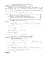 Bài soạn Chuyên đề so sánh phân số ( Sưu tầm )