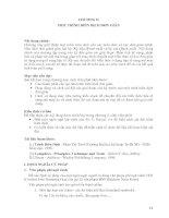 Tài liệu Tài liệu trình biên dịch C (ĐH Cần Thơ) part 3 docx