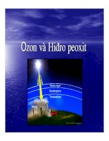 Tài liệu Oxi ozôn và Hiđrô peoxit pptx