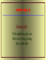 Gián án Bài 11 ;thực hành :Sự phân bố các lục địa và đại dương........