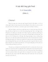 Tài liệu Cuộc đời ông già Noel (Phần 1) ppt