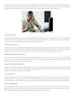 Những quy tắc vàng trong giao tiếp nơi công sở