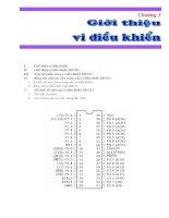 Tài liệu Chương 3: Giới thiệu vi điều khiển pdf