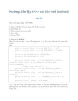 Tài liệu Hướng dẫn lập trình với Android part 20 pdf