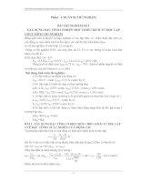 Tài liệu Báo cáo thí nghiệm - Truyền động điện phần lý thuyết pptx