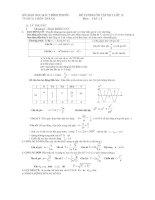đề cương môn lý 12 hk1