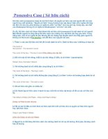 Tài liệu Possessive Case ( Sở hữu cách)ỉ pdf