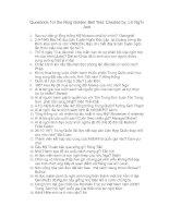 Tài liệu Câu hỏi kiến thức tổng hợp 6 docx