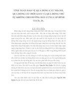 Tài liệu TÍNH TOÁN BẢO VỆ QUÁ DÒNG CẮT NHANH pdf