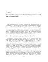 Tài liệu Chapter 7: Dimerization, oligomerization and polymerization of alkenes and alkynes pptx