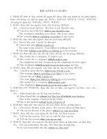 Tài liệu [Luyện thi tiếng Anh] Unit 6: Relative clauses pdf