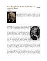 Tài liệu Thuyết tương đối và việc khắc phục các hạn chế của cơ học Newton doc
