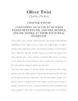 Tài liệu LUYỆN ĐỌC TIẾNG ANH QUA TÁC PHẨM VĂN HỌC-Oliver Twist -Charles Dickens -CHAPTER 38 pdf
