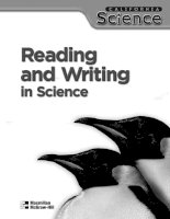 Reading and writing in science V3