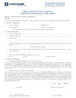 Tài liệu Phiếu đăng ký sử dụng dịch vụ