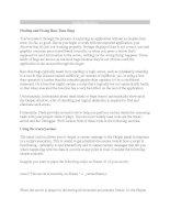Tài liệu Finding and Fixing Run-Time Bugs pptx